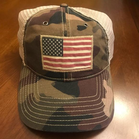6ccf6d70d8b23 Polo Ralph Lauren American Flag Camo Hat